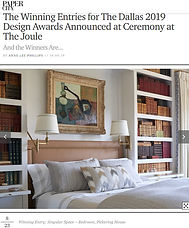 Papercity Awards 2019 Bedroom