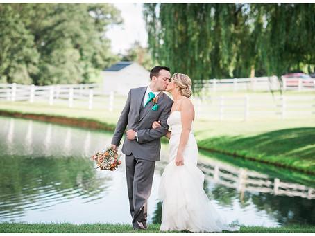 Samantha + Tim : Pond View Farm, White Hall, MD