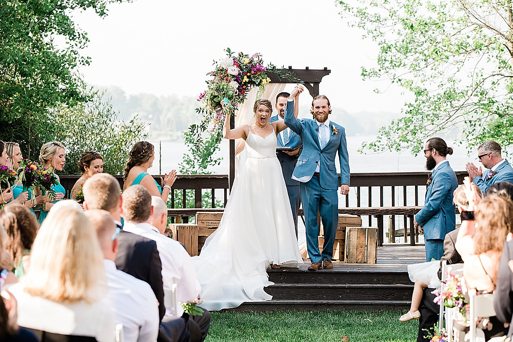Historic London Town and Gardens wedding ceremony, annapolis photographer