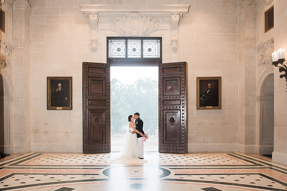 couple portraits naval academy bancroft hall