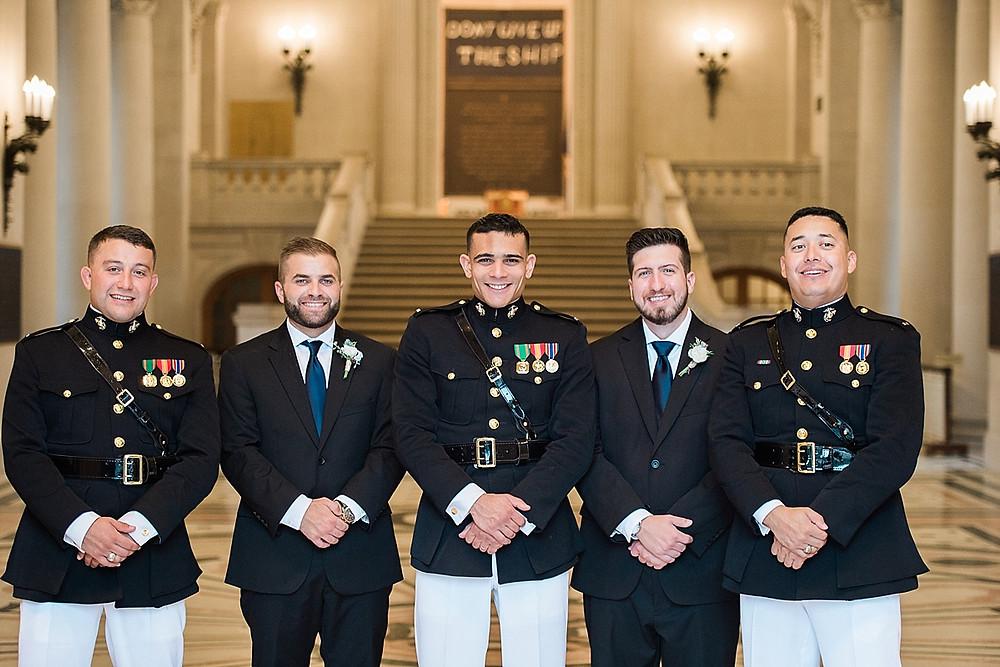 groomsmen naval academy bancroft hall