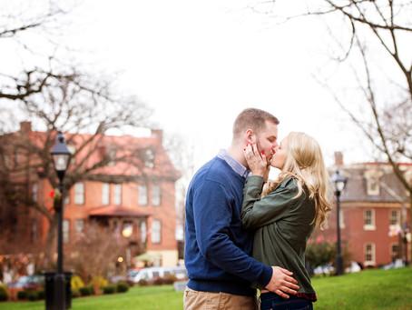 Michelle + Justin Engagement : Annapolis MD