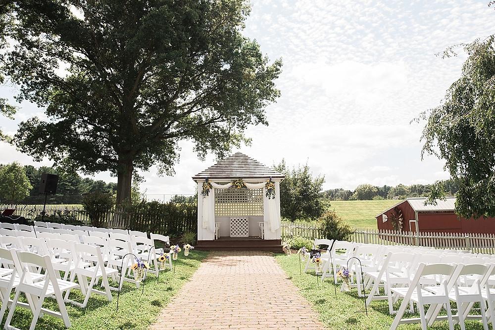 carroll county farm museum wedding ceremony
