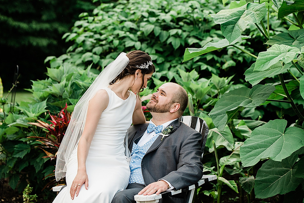 Atrium at Meadowlark wedding