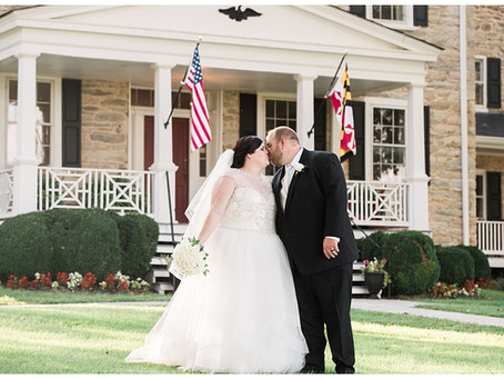 April + Will : Springfield Manor Winery & Distillery, Thurmont, MD