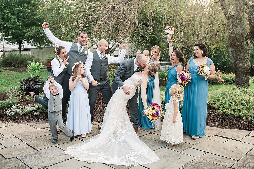 fun bridal party Historic London Town and Gardens