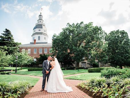 Heather + Randy :: Governor Calvert House, Annapolis, MD