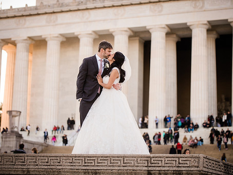 Susie + Adam :: Our Lady Queen of the Americas, Washington, DC // Key Bridge Marriott, Arlington, VA