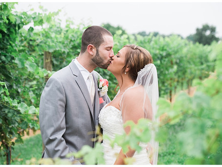 Jessica + Vinnie : Robin Hill Farm & Vineyard, Brandywine, MD