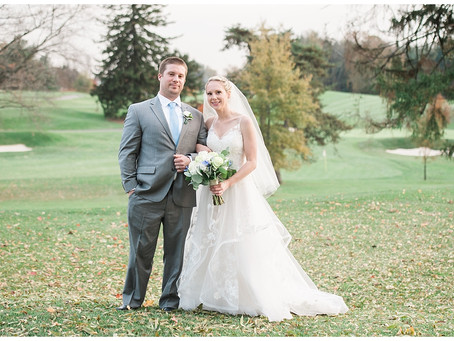 Erin + Steve : Country Club of Maryland, Towson, MD