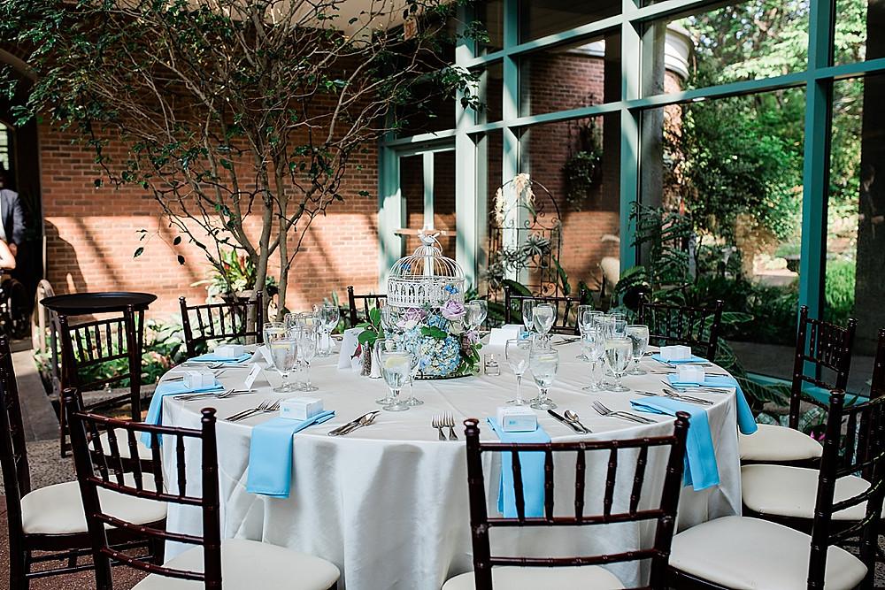 Wedding at the Atrium at Meadowlark Botanical Gardens