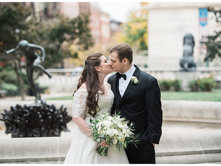 Casey + Matt : The Engineer's Club at the Garret-Jacobs Mansion, Baltimore, MD