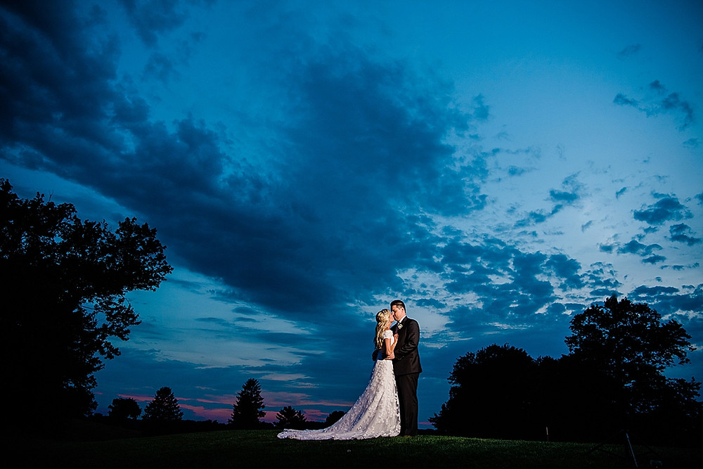 maryland golf and country club wedding