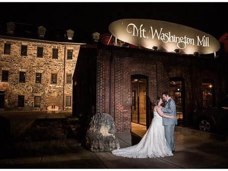 Christine + Cory : Mt. Washington Mill Dye House, Baltimore, MD