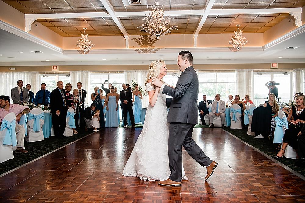maryland golf and country club wedding reception