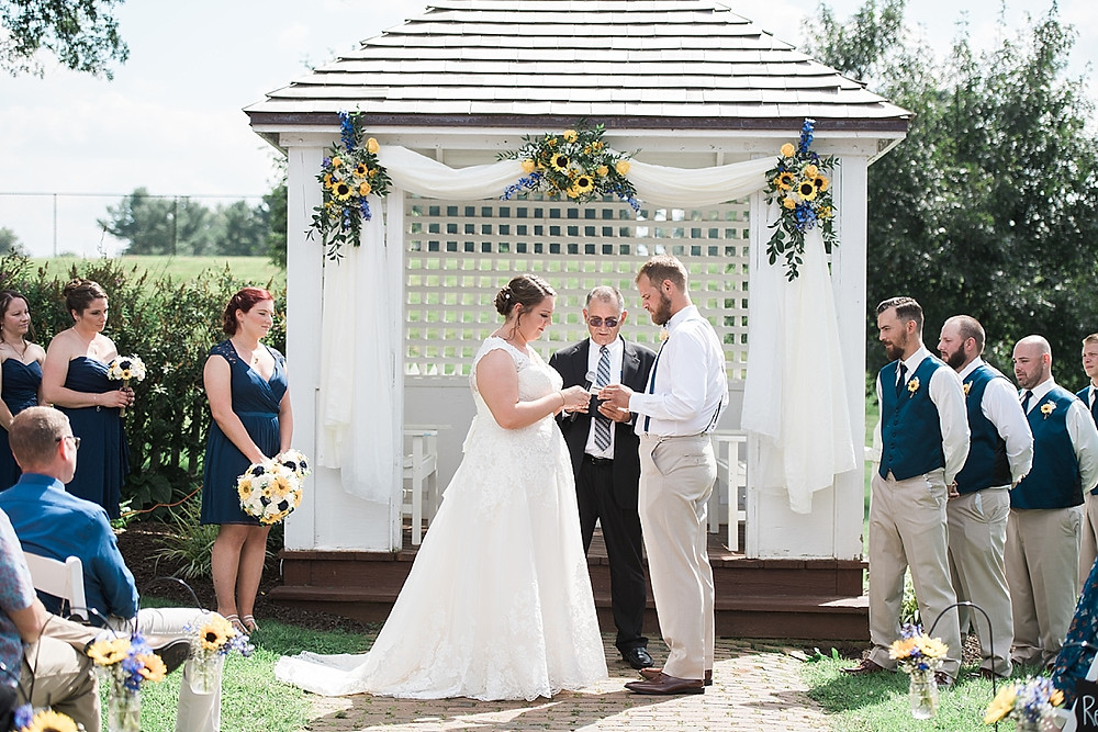 vows at carroll country farm museum