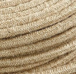 Fabric cable in Jute