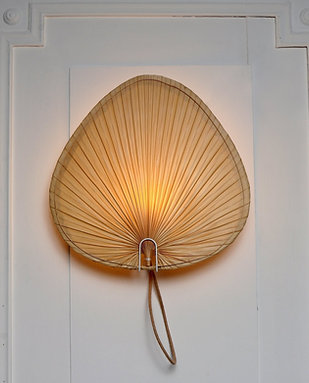 PALM LEAF wall lamp