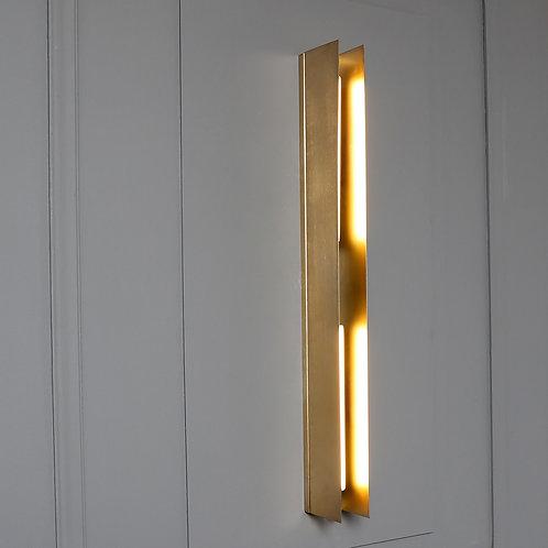PREZENTE gold mat Brass Wall