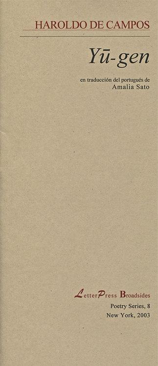 Yu-gen, de Haroldo de Campos