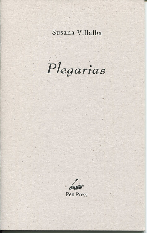Plegarias, de Susana Villalba
