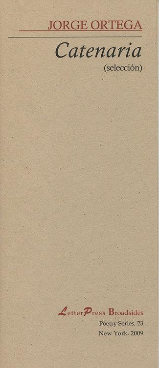 Catenaria, de Jorge Ortega