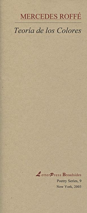 Teoría de los Colores (selección), de M. Roffé