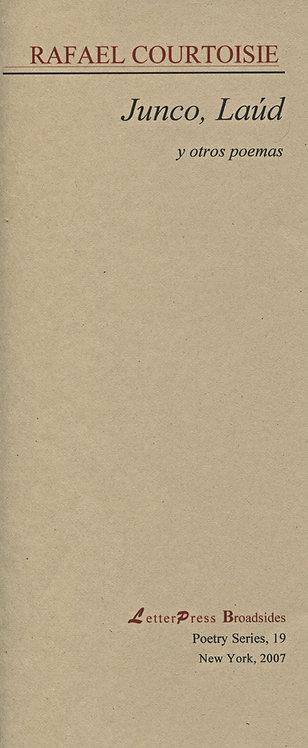Junco, Laúd y otros poemas, de Rafael Courtoisie