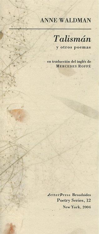 Talismán y otros poemas, de Anne Waldman
