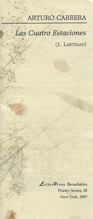 Las Cuatro Estaciones (I), de Arturo Carrera