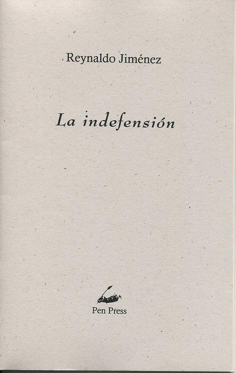 La indefensión, de Reynaldo Jiménez
