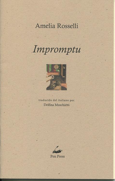 Impromptu, de Amelia Rosselli