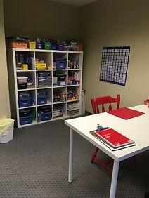 Math Tutoring Room