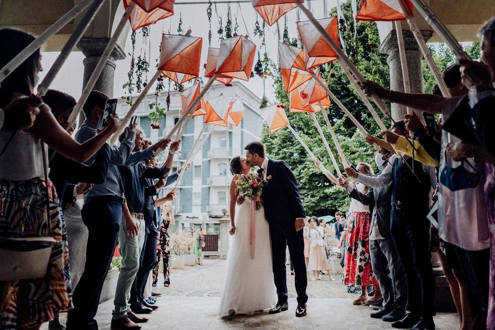 Romantico matrimonio a Ivrea