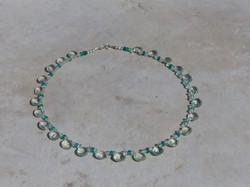 Green Amethyst + Green Onyx Necklace