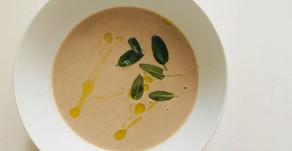 Chestnut, Sage and Mushroom Soup