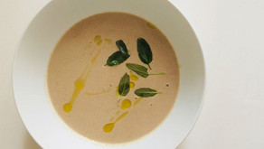 Chestnut, Sage and Mushroom Soup
