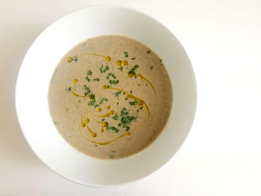 Mushroom and Tarragon Soup