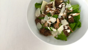 A kind of Caesar salad