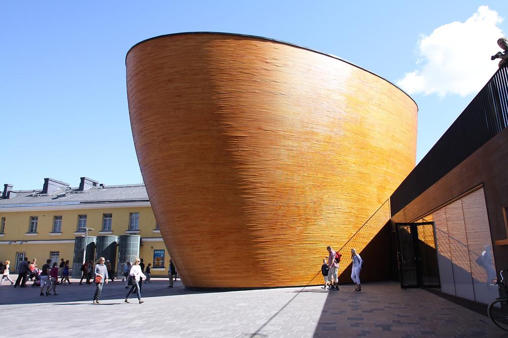 Kaampi Chapel of Silence Helsinki
