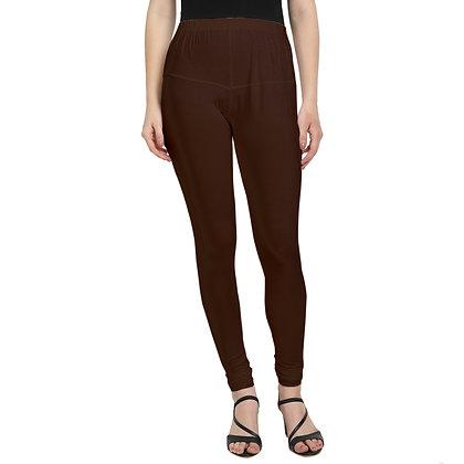 Murat For Women Regular Fit Cotton Lycra Blend Brown Color Leggings
