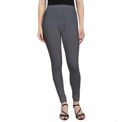 Murat For Women Cotton Lycra Blend Grey Color Jumbo Size Leggings