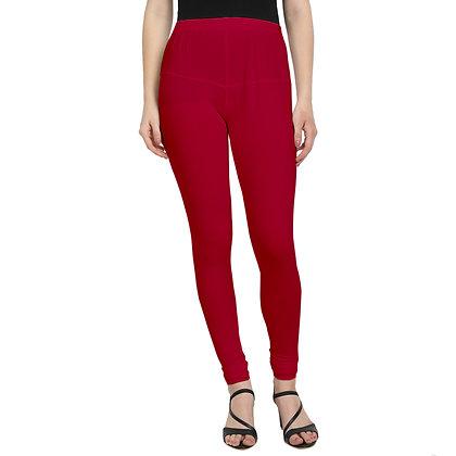 Murat For Women Cotton Lycra Blend Red Color Jumbo Size Leggings
