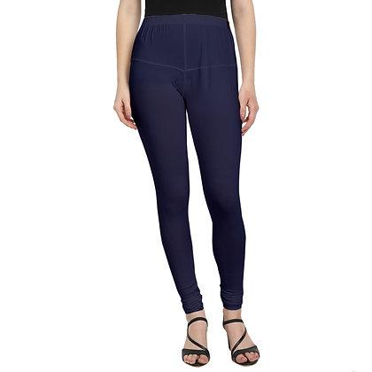 Murat For Women Cotton Lycra Blend Dark Blue Color Jumbo Size Leggings