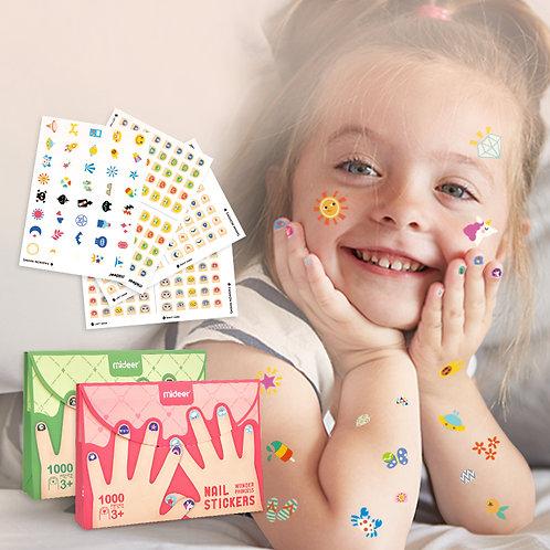 MiDeer Nail Stickers 1000 pcs/box