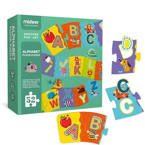 Mideer Alphabet Puzzle ABC Learning Preschool Educational Toy for Kid