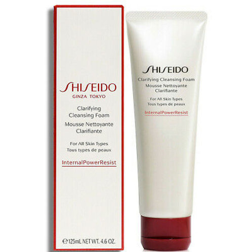 Shiseido Clarifying Cleansing Foam (for all skin types)