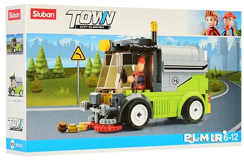 Sluban M38-B0781A Town - City Cleaner Cleaning Truck 136 pcs