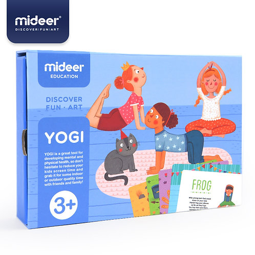 Mideer YOGI CARDS Cognition Cards Raising Good Habbit Tool