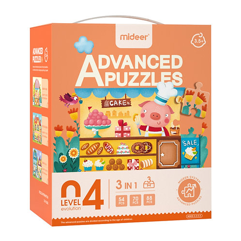 MiDeer Level Up Educational Puzzle By Level 4
